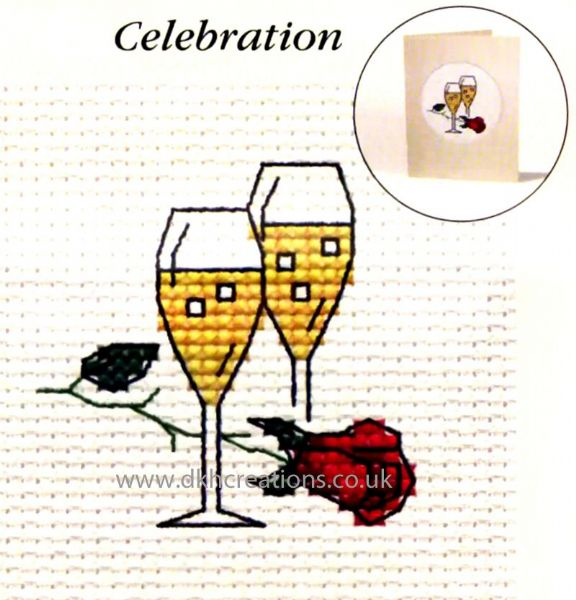 Celebration Card Cross Stitch Kit